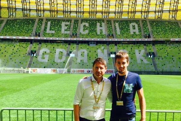 Mario Maloca (z prawej)