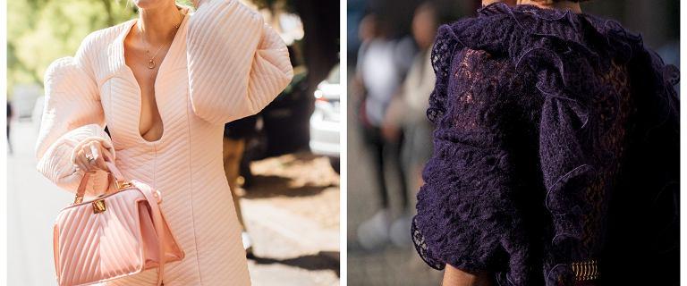 Trendy 2021: fokus na ramiona. Zobacz jak stylizować koszule i swetry z bufkami! Propozycje prosto z tygodnia mody