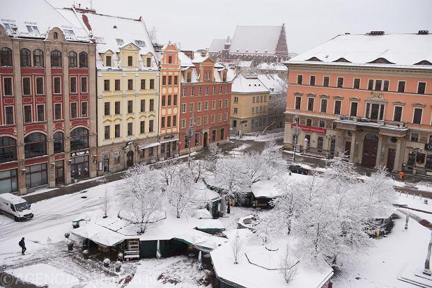 Zdjęcie numer 21 w galerii - Wrocław pod śniegiem. Zobacz zimowe zdjęcia z centrum miasta [FOTO]