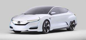 Salon Detroit 2015   Honda FCV Concept   Konkurent Toyoty Mirai
