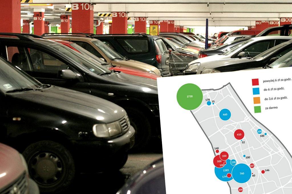 Parkowanie W Warszawie W Warszawie Jest Mnóstwo Miejsc Do