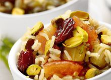 Cynamonowy pilaw z bakłażanem - ugotuj