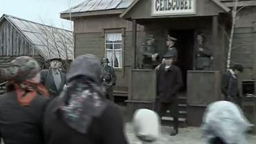Kadr z białorusko-rosyjskiego serialu ''1941''