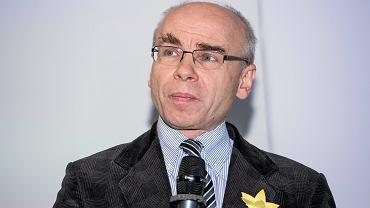 Dariusz Stola na konferencji z okazji 75. rocznicy wybuchu powstania w getcie Warszawskim