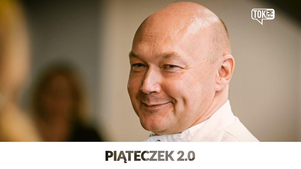 Wojciech Orliński, autor podcastu tokfm.pl 'Piąteczek 2.0'