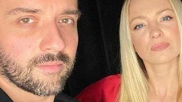 Barbara Kurdej-Szatan z mężem