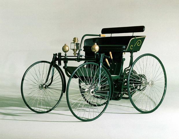 Pierwszy samochód Wilhelma Maybacha z 1889 roku