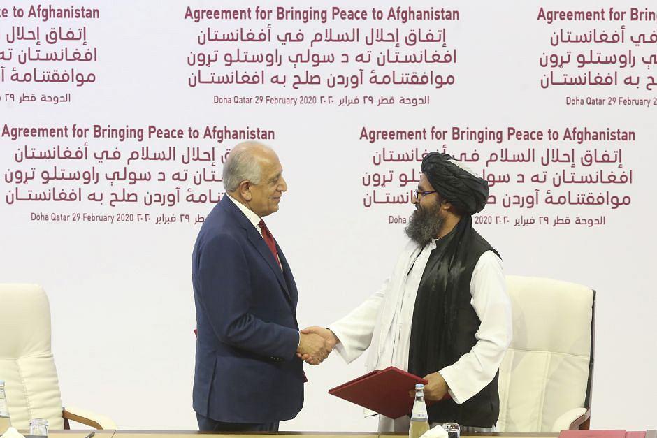 Podpisanie porozumienia pokojowego miedzy USA a talibami - Doha, Katar