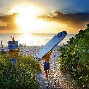 Floryda, czyli raj dla surferów.