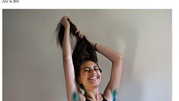 Women Who Dye Their (Armpit) Hair