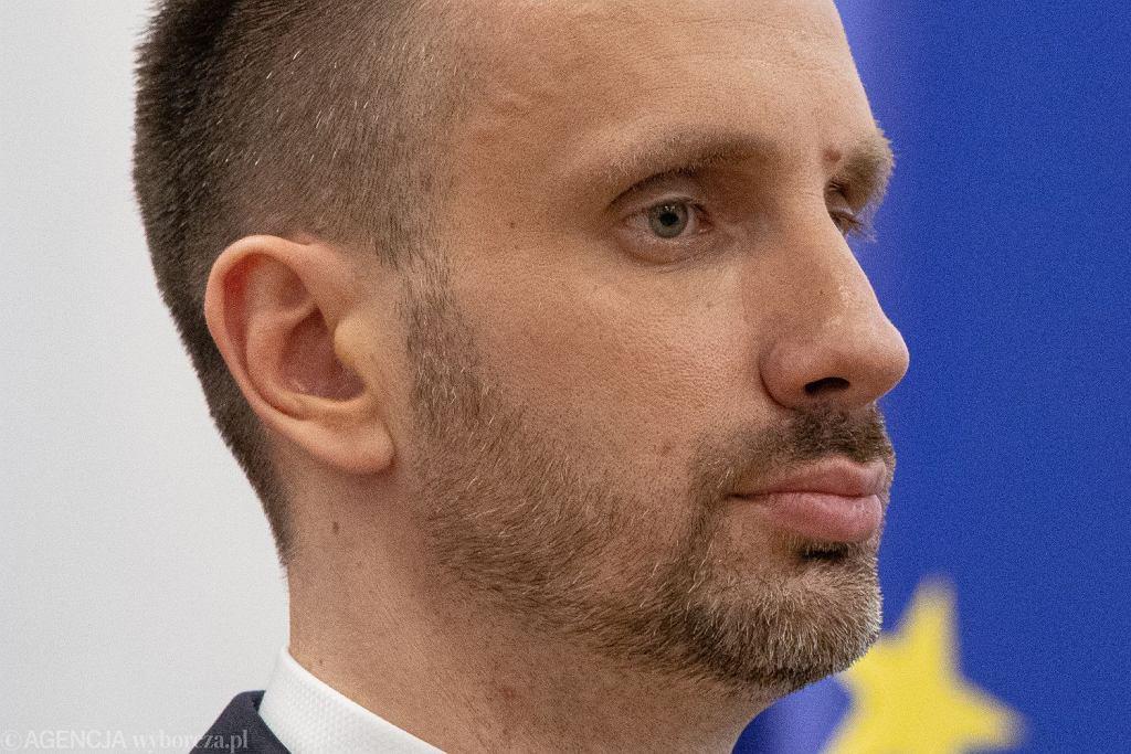 Były już wiceminister aktywów państwowych Janusz Kowalski