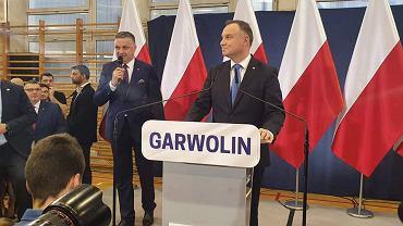 Andrzej Duda i Grzegorz Woźniak