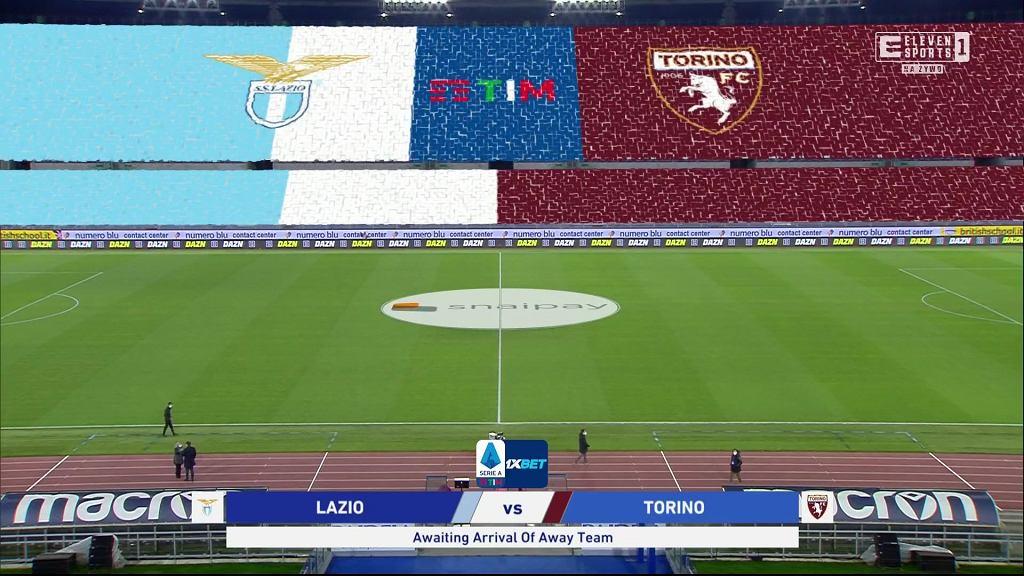 Piłkarze Lazio czekają na drużynę Torino