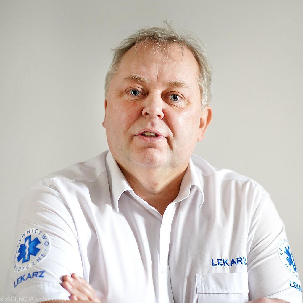 Dr.  Waldemar Dros. Olsztyn, 3 marca 2021