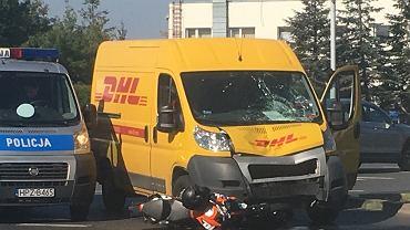 Wypadek na Puławskiej