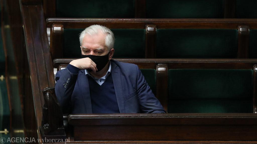 Jarosław Gowin zakażony koronawirusem. 'I mnie w końcu dopadło'
