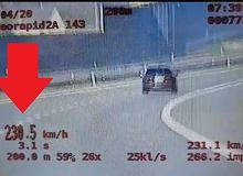 SUV-em jechał 230 km/h. Złapała go grupa SPEED. Kara? Najwyższa możliwa