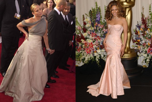 Jennifer Lopez na Oscarach w 2001 i 2002 roku
