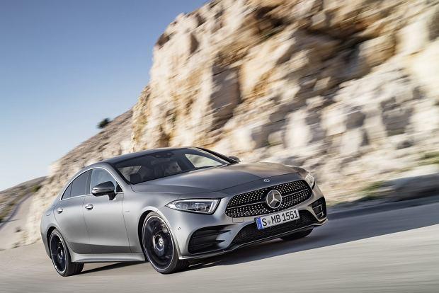 Nowy Mercedes CLS odsłania tajemnice