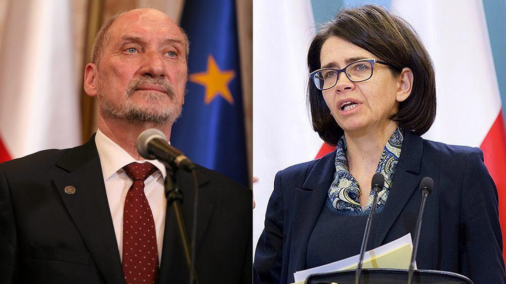 Antoni Macierewicz, Anna Streżyńska