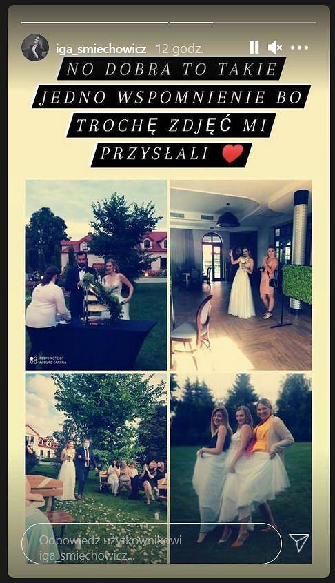 'Ślub od pierwszego wejrzenia'. Iga pokazała niepublikowane zdjęcia z wesela