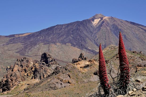 Pico del Teide - szczyt wulkaniczny położony na Teneryfie
