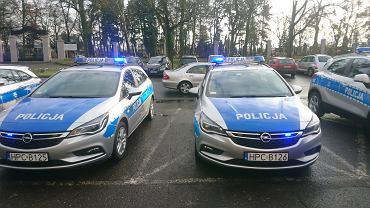 Nowe samochody dla toruńskiej policji