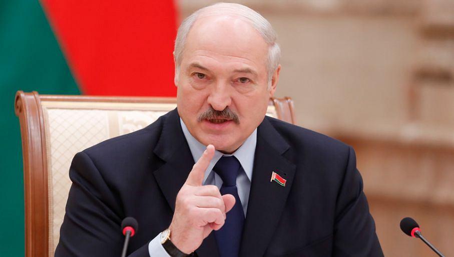 Prezydent Białorusi Łukaszenka