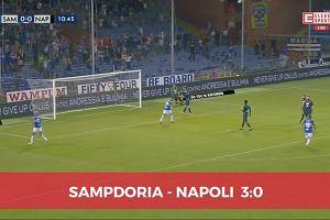 Serie A. Sampdoria rozbiła Napoli [SKRÓT]