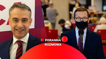 Krzysztof Gawkowski w Porannej Rozmowie Gazeta.pl
