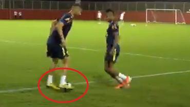 David Neres ośmieszony przez Richarlisona na treningu reprezentacji Brazylii