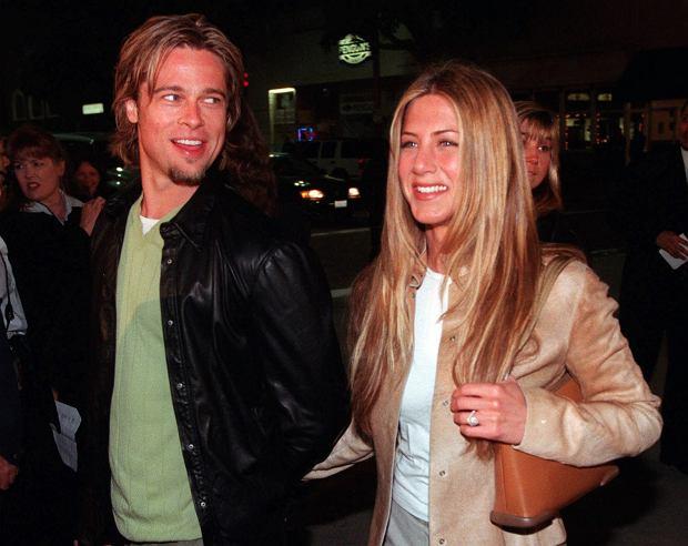 Brad Pitt i Jennifer Aniston w 2000