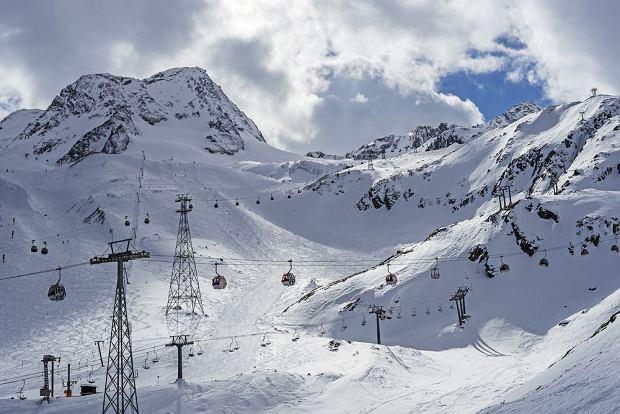 Austria narty: Stubaier Gletscher / shutterstock