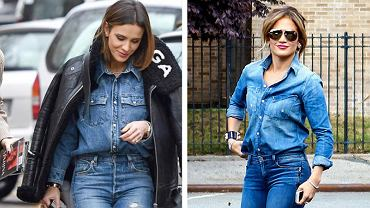 Sara Boruc, Jennifer Lopez, jeans