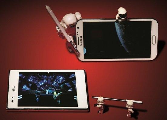 Fablety Samsunga i LG