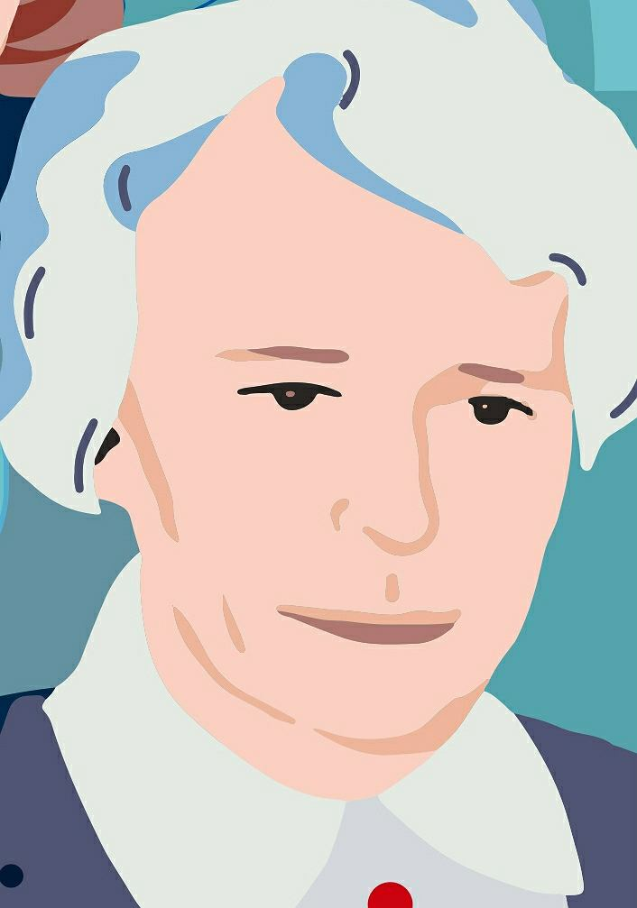 Joanna Muszkowska-Penson, fragment muralu 'Kobiety Wolności'