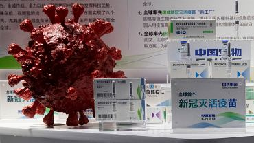 Virus Outbreak China Vaccines