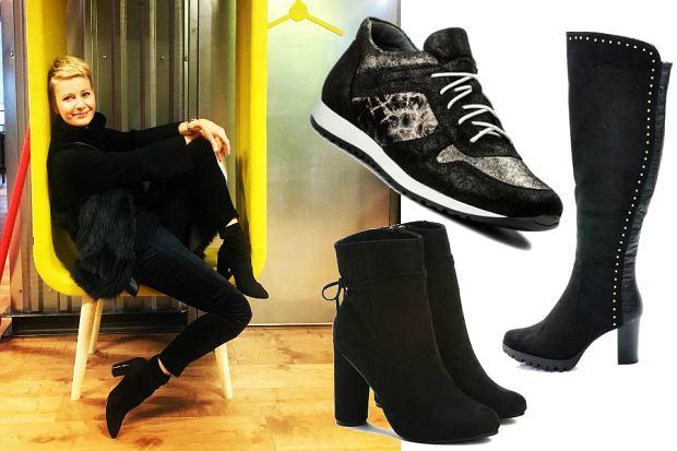 czarne buty na jesień