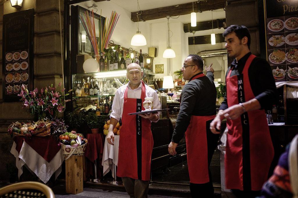 Włoska kawiarnia