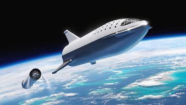 Statek BFS, który ma polecieć na Marsa