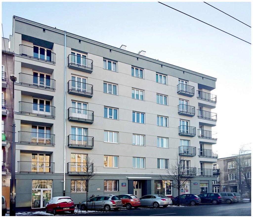 Kamienica przy ul. Grochowska 221
