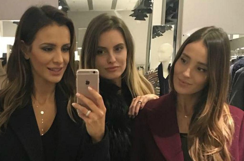Sara Boruc, Dominika Grosicka, Marina Łuczenko-Szczęsna