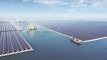Największa na świecie pływająca elektrownia słoneczna