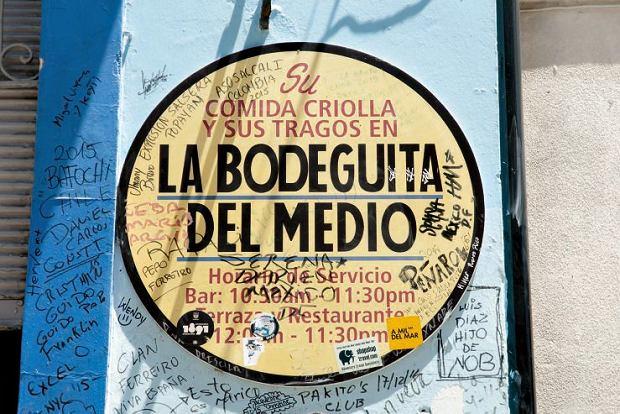 Jak na kubańskie warunki mojito w Bodeguicie kosztowało mnie majątek