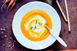 Zupa marchewkowa zpomarańczą