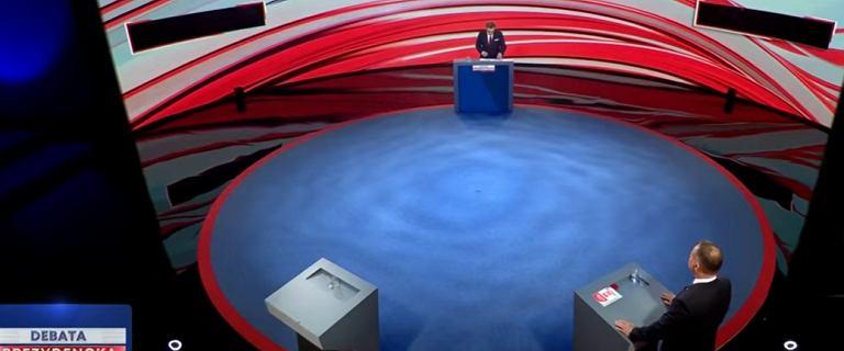 Debata w Końskich. Andrzej Duda czytał z promptera? Jest odpowiedź TVP