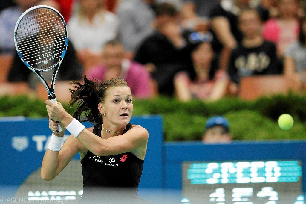 WTA Katowice Open. Agnieszka Radwańska w półfinałowym meczu z Camilą Giorgi