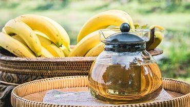 herbata bananowa - jak przygotować?