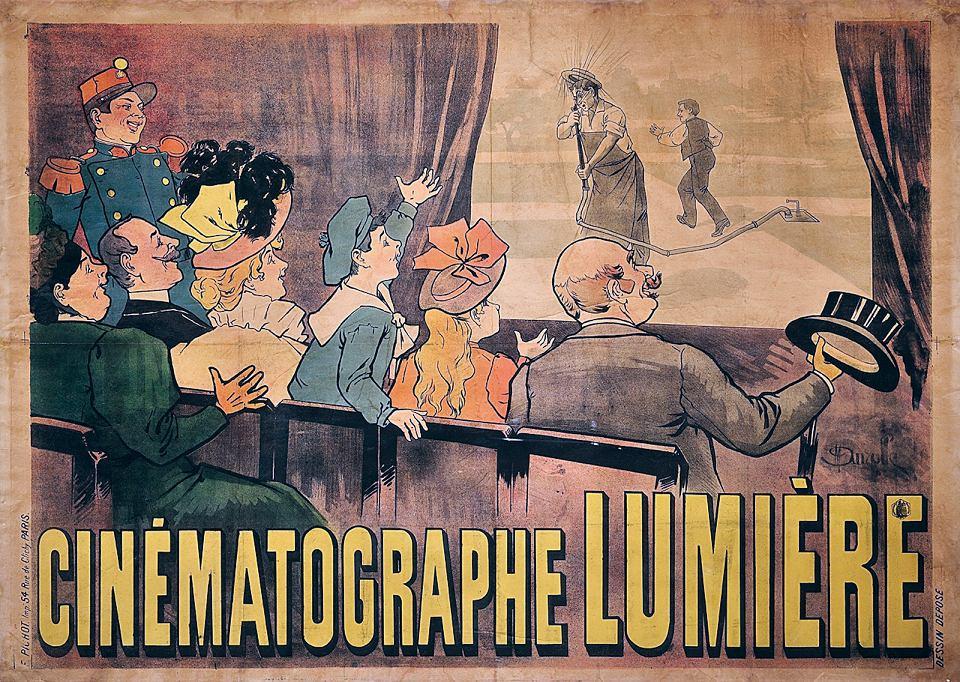 Cinématographe Lumiere 1896.  1896.