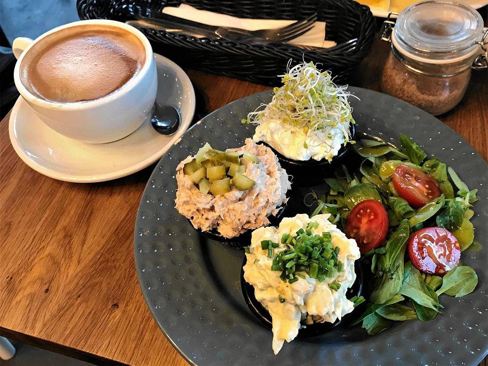 Śniadanie w Caffe przy Ulicy